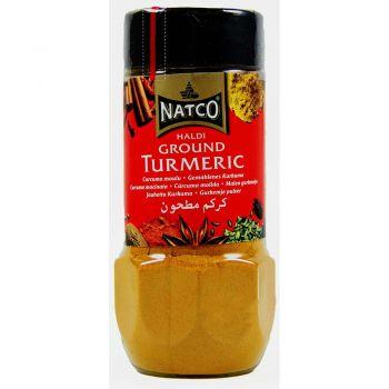 Natco Ground Turmeric 100g jar