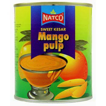Natco Mango Pulp Sweet (Kesar) 850g