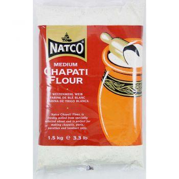 Natco Medium Chapati Flour 1.5Kg
