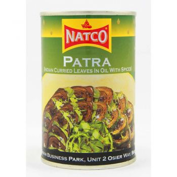 Natco Patra (Indian Curried Leaves in Oil with Spices) 400g