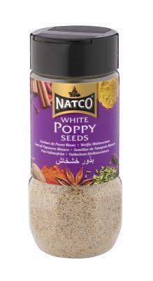 Natco White Poppy Seeds 100g jar