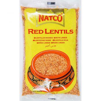 Natco Red Lentils 500g, 1kg & 2kg Packs