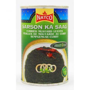 Natco Sarson Ka Saag (Curried Mustard Leaves) 450g & 800g