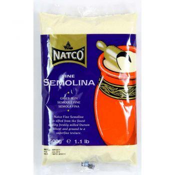 Natco Fine Semolina 500g & 1.5kg Packs