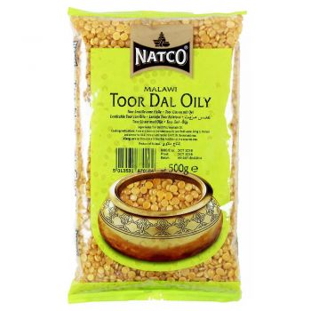 Natco Toor Dal Oily 500g