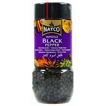 Natco Whole Black Pepper 100g jar