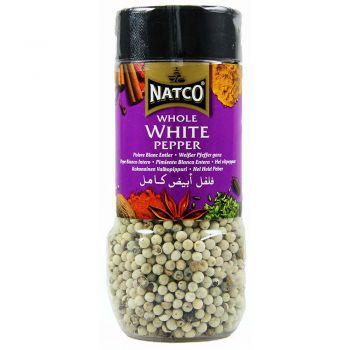 Natco Whole White Pepper 100g jar