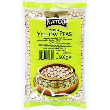Natco Yellow Peas Whole 500g & 2kg Packs