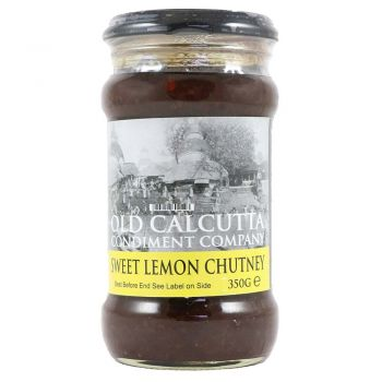 Old Calcutta Condiment Company Sweet Lemon Chutney 350g
