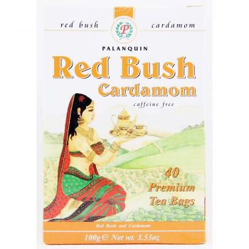 Palanquin Red Bush Cardamom 40 Tea Bags