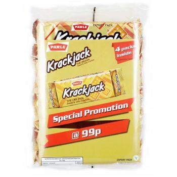 Parle Krackjack Crackers 4 Pack