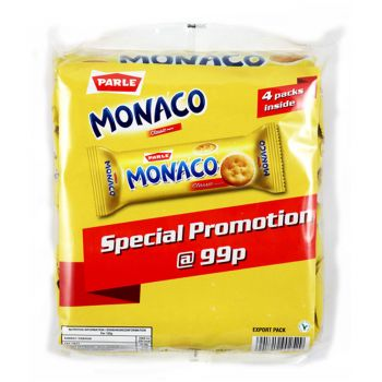 Parle Monaco Crackers 4 pack