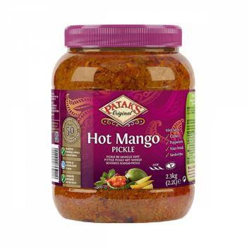 Pataks Mango Pickle (Hot) 2.3kg jars