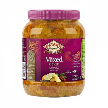 Pataks Mixed Pickle (Hot)  2.2kg jars