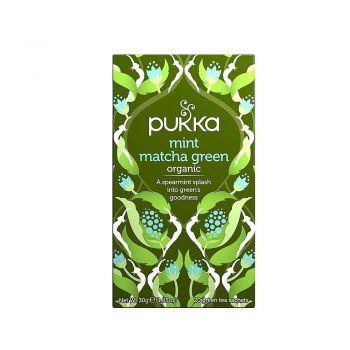 Pukka MInt Matcha Green 20 Herbal Tea Sachets