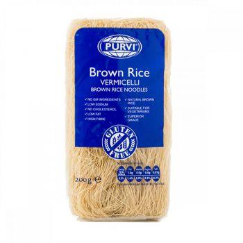 Purvi's Brown Rice Vermicelli 200g & 400g packs