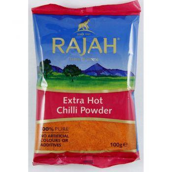 Rajah Extra Hot Chilli Powder 100g & 400g Packs