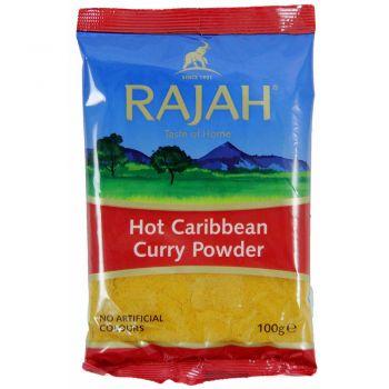 Rajah Hot Caribbean Curry Powder 100g
