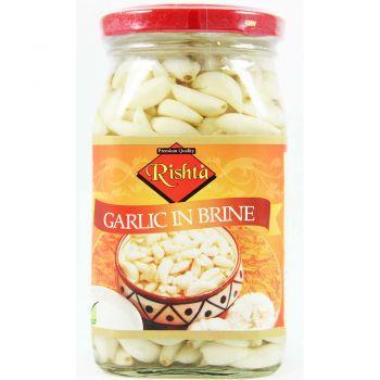Rishta Garlic In Brine 400g