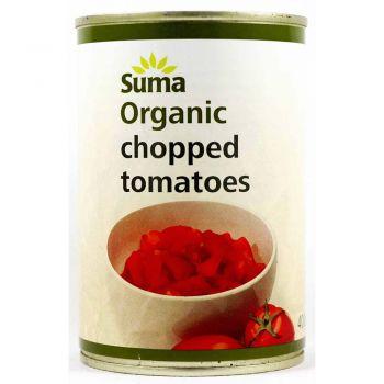 Suma Organic Chopped Tomatoes 400g