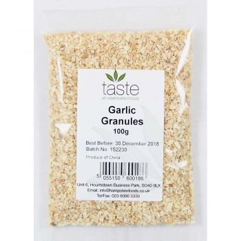 Taste Garlic Granules 100g