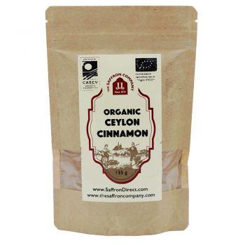 The Saffron Company Organic Ceylon Cinnamon 135g