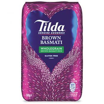 Tilda Brown Basmati 500g