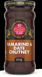 Timtom Tamarind & Date Chutney 425g