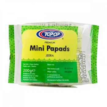 Top Op Mini Jeera Papads 200g