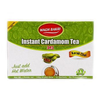 Wagh Bakri Instant Tea Premix Cardamom 10 Sachets