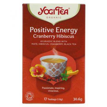Yogi Tea Positive Energy Cranberry Hibiscus